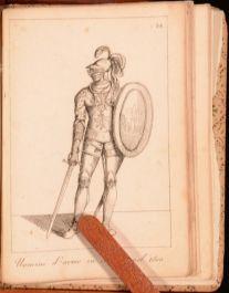 1830 Raccolta di Costumi Antichi Bartolomeo Pinelli With Notes by N de Scarani