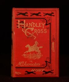 1854 Handley Cross Or Mr Jorrocks's Hunt Illustrated John Leech Robert Surtees