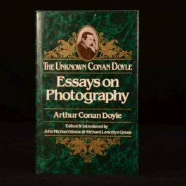 1982 The Unknown Conan Doyle Essays on Photography JM Gibson Dustwrapper First