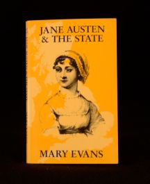 1987 Mary Evans Jane Austen & the State Social Science Paperbacks Literary Crit