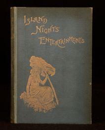 1893 Island Night's Entertainments Robert Louis Stevenson Illus Short Stories