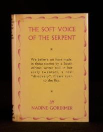 1953 The Soft Voice of the Serpent Nadine Gordimer First Edition in Dustwrapper