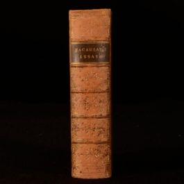 1857 Critical and Historical Essays Edinburgh Review Macaulay