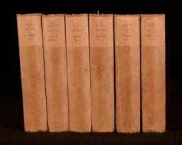 1904-1905 6Vol The Works of Henry Fielding Novels Illustrated Cruikshank