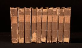 1817 10Vol The Works of the late William Cowper Illustrated Letters