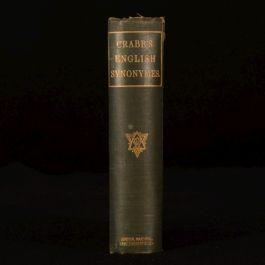 1875 English Synonymes Explained George Crabb English Grammar