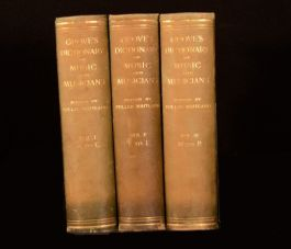 1913 3 vols Grove's Dictionary of Music and Musicians Illustrated F Maitland