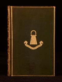 c1920 Jules Verne Round the World in Eighty Days Calf Prize Binding