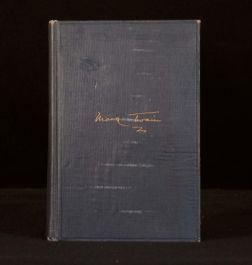 1935 Albert Bigelow Paine Mark Twain's Notebooks Second Edition Frontispiece
