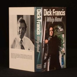 1979 Whip Hand by Dick Francis Crime Novel First Edition Inscribed by the Author