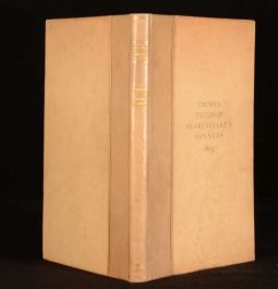 1950 Explanatory Introduction Thorpe's Edition of Shakespeare's Sonnets Limited
