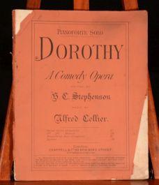 1886 Pianoforte Solo DOROTHY a Comedy Opera B. C. Stephenson