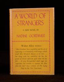 1958 Nadine Gordimer A World of Strangers First Edition In Dustwrapper