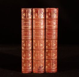 1901 3vol The Works of William Shakespeare Victoria Edition Comedies Tragedies
