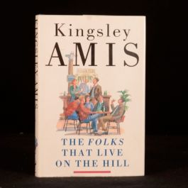 1986 Kingsley Amis The Folks That Live on the Hill First Edition Dustwrapper