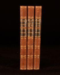 1899 3Vols Charles Kingsley Hypatia Alton Locke Westward Ho Novels Collection