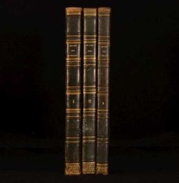 1833-37 3vol Musee Des Familles Lectures Du Soir Illustrated In French