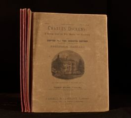 c1890 6Vol Charles Dickens Gossip about his Life Illustrated