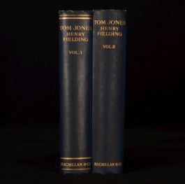 1932 2vol Henry Fielding The History Of Tom Jones A Foundling