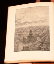 c1895 Textile London J Wells Thatcher Signed Illustrated W Luker