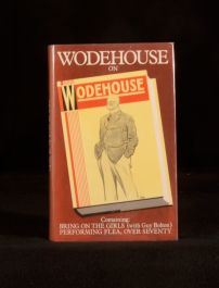 1980 Wodehouse on Wodehouse by P G Wodehouse First Collected Edition