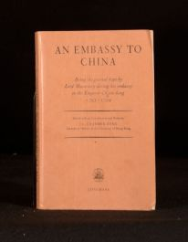 1962 An Embassy to China J L Cranmer-Byng Lord McCartney