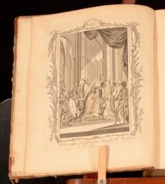 1770 Clarendon's History of England Illustrated Plates Map First Edition Thus