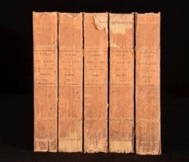1822 5 Vols The History of ENGLAND T.Smollett