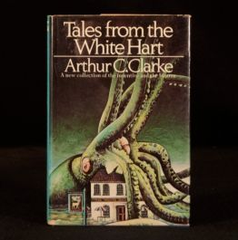 1972 Tales From The White Hart By Arthur C Clarke First Unclipped Dustwrapper