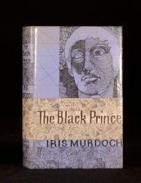 1973 The Black Prince Iris Murdoch Novel First Edition in Dustwrapper