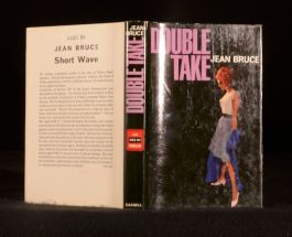 1964 Double Take Jean Bruce Scarce Thriller First Edition