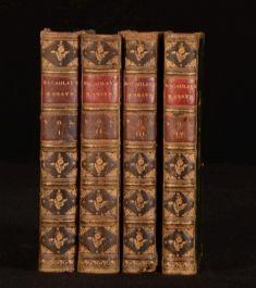 1882 4vol Critical and Historical Essays Lord Macaulay Edinburgh Review