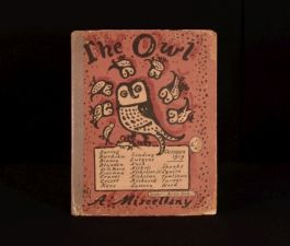 1919 The Owl A Miscellany No 2 October 1919 Edited Robert Graves Illustrated
