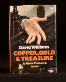 1982 Copper Gold and Treasure David Williams First Edition Mark Treasure