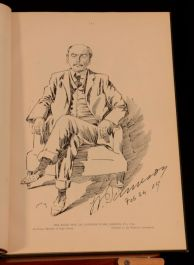 1909 Character Sketches by Mac Herbert Wood Mackinney Cape Times South Africa