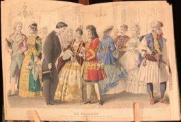 1883 Gravures De Mode 1863-83 Journal des Demoiselles Hand Coloured Plates