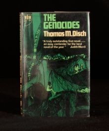 1967 The Genocides Thomas Disch Scarce First English Edition with Dustwrapper