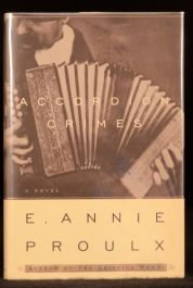 1996 E Annie Proulx Accordion Crimes Limited First Edition Signed Novel America