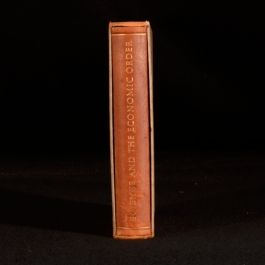 1956 Science and the Economic Order Fine Binding Richard Merton Alfred Peterson