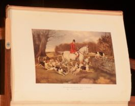 1920 The Life of a Fox Colour Illustrated Thomas Smith Diary of a Huntsman