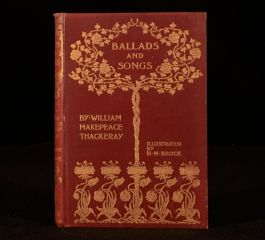 1896 Ballads And Songs By William Makepeace Thackeray Illustrated By H M Brock