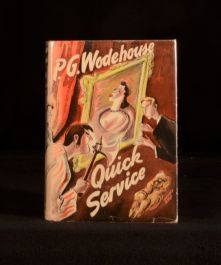1941 Quick Service by P G Wodehouse with Dustwrapper
