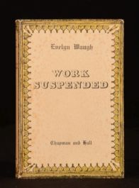1948 Work Suspended Evelyn Waugh Uniform Edition Short Stories with Dustwrapper