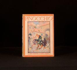 c1943 The Adventures of Pinocchio Collodi Illustrated Frederick Richardson