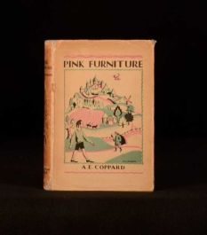 c1930 Pink Furniture a Tale for Lovely Children with Noble Natures by A Coppard