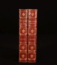 1905-10 2vol The Regent of the Roues Two Great Rivals Haggard Brentanos Binding