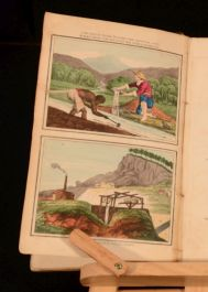 1830 Familiar Lessons on Mineralogy and Geology with Coloured Plates John Mawe