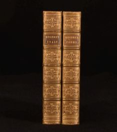 1851-1852 2vol Poems and Italy A Poem by Samuel Rogers