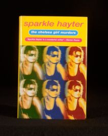 2000 The Chelsea Girl Murders Sparkle Hayter Signed First Edition