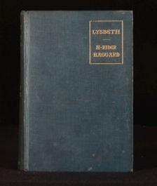 1901 Lysbeth A Tale of the Dutch H Rider Haggard Plates Jacomb Hood